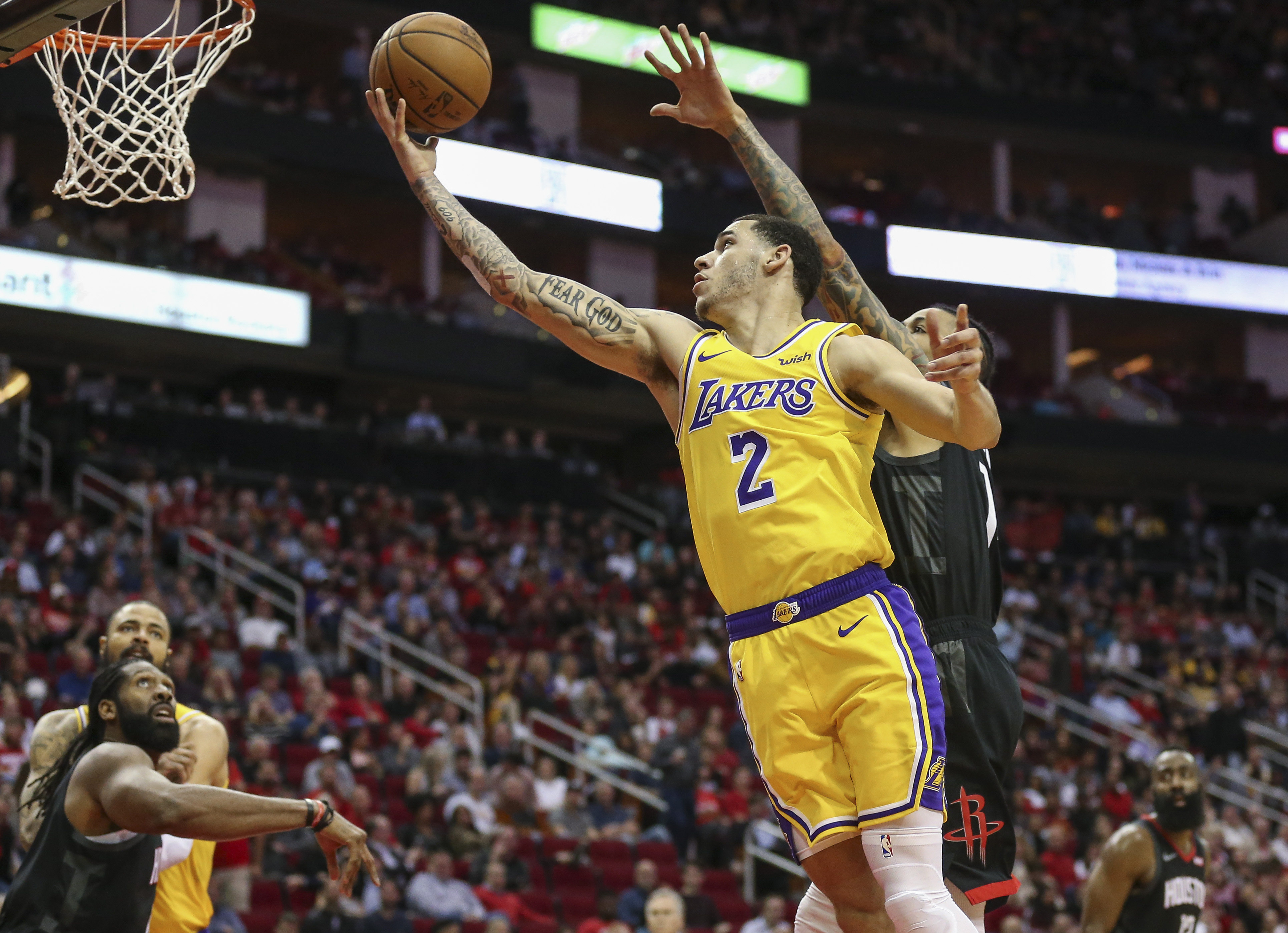 f9cd4014b75 Lonzo Ball out four-to-six weeks with ankle injury - Lakers Outsiders