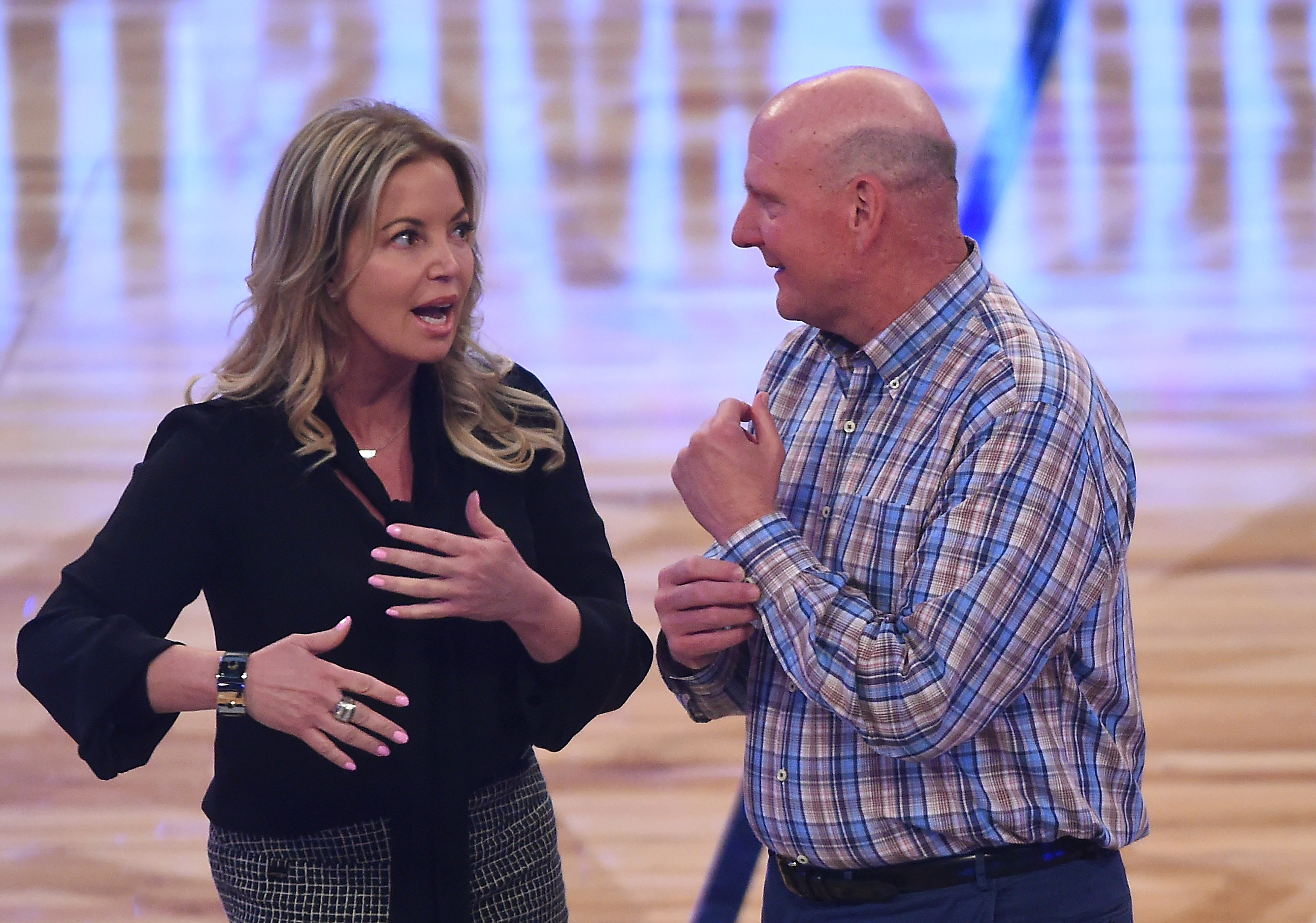 Lakers News: Jeanie Buss credits Magic Johnson for signing