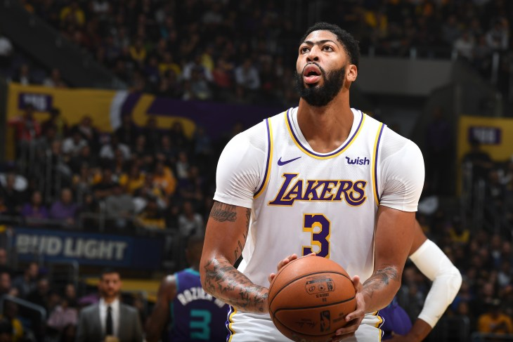 Los Angeles Lakers - Anthony Davis