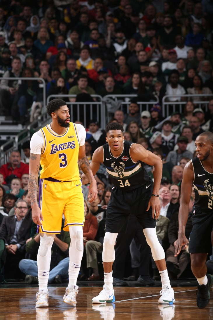 Los Angeles Lakers v Milwaukee Bucks