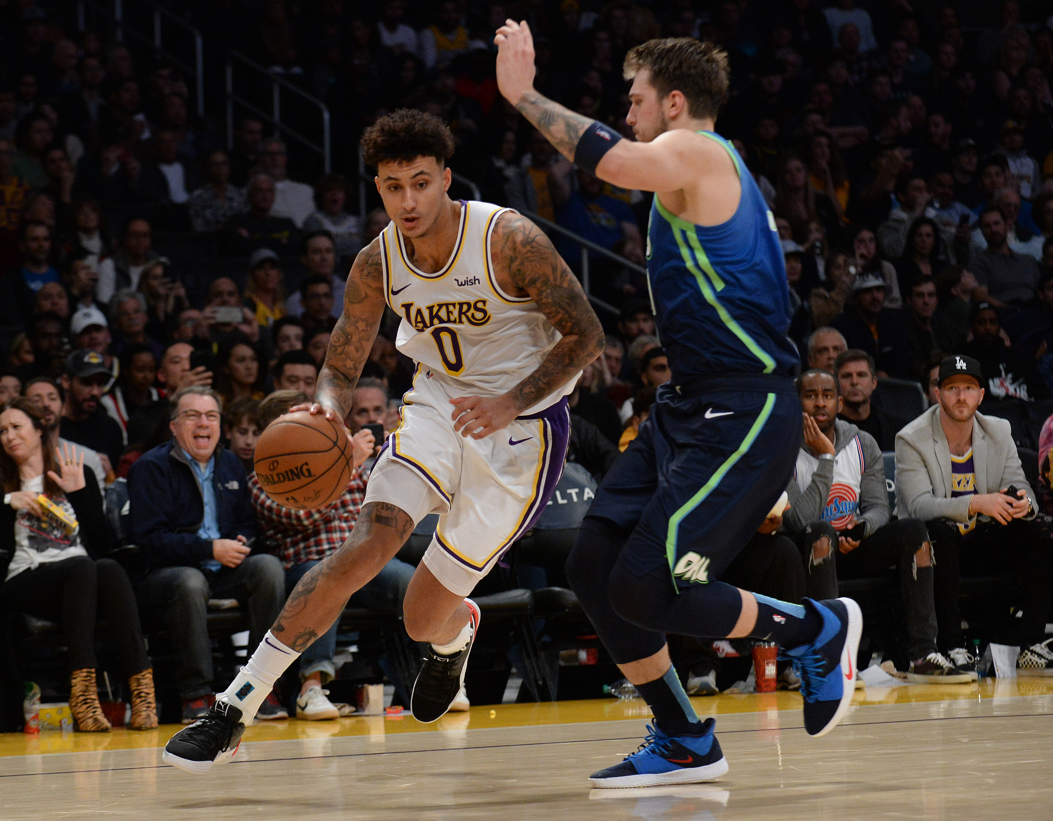 Preview Lakers Host Mavs Looking For Second Straight Win