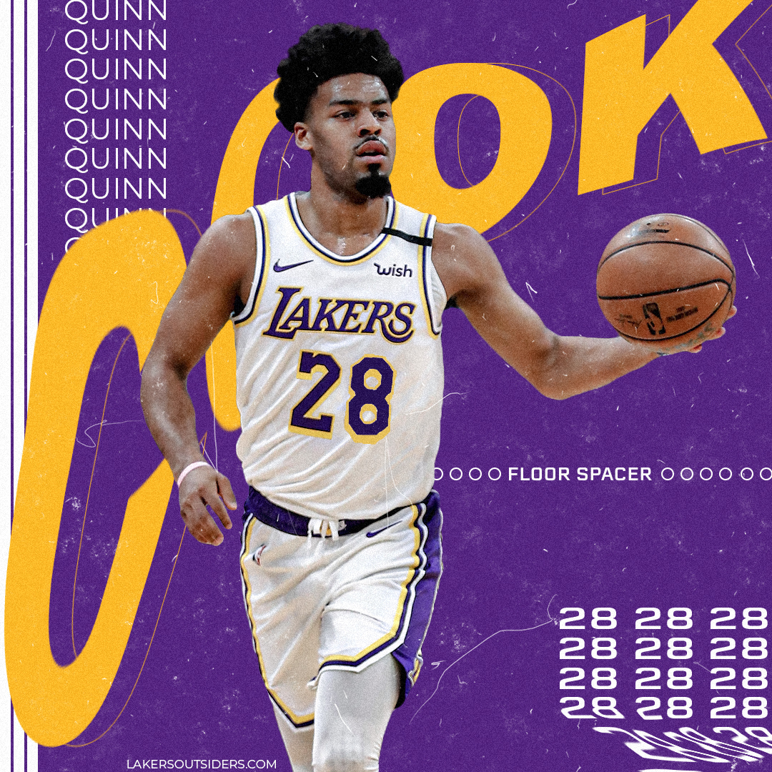 Quinn Cook is ready to reemerge for the Lakers in Orlando - Lakers ...