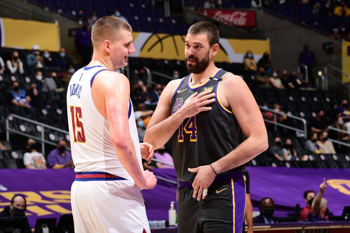 Lakers forgotten veterans Marc Gasol, Wesley Matthews lead huge victory over Nuggets