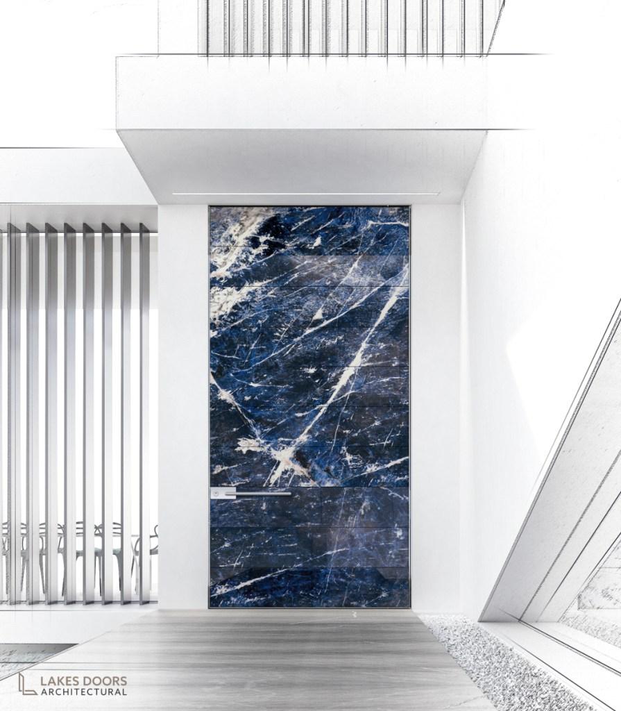 Marble Pivot Door