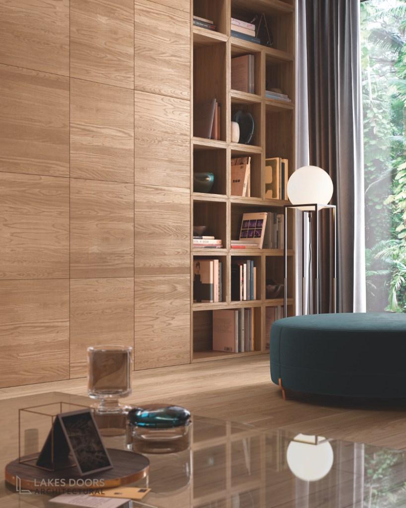 Modern Oak Wall Panelling