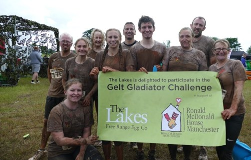 Team Lakes after Gelt Gladiator