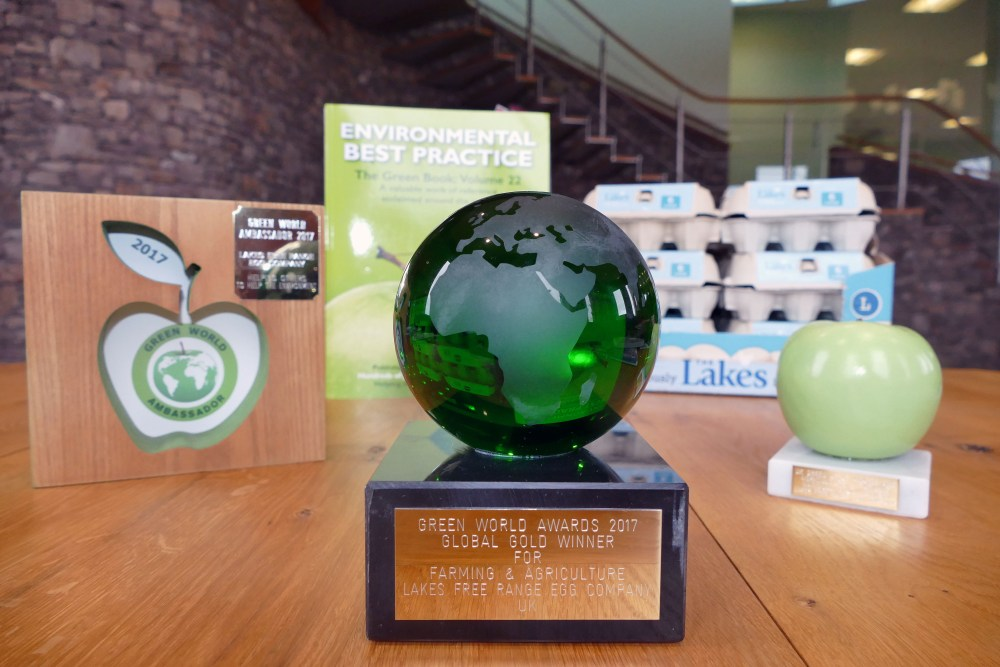 3 green awards for The Lakes