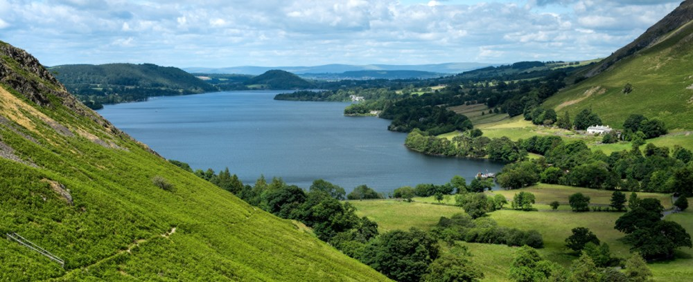 View of Ullswater for Lakes Organic eggs