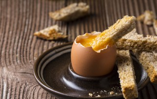 lakes free range boiled egg