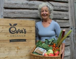 Organic September - Evas sells Lakes Organic eggs