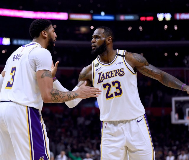 Los Angeles Lakers  Players The Nba Suspension Benefits