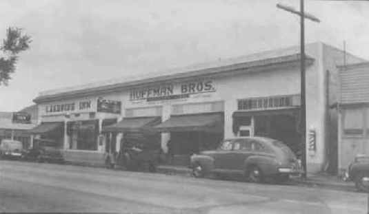 Huffman Bros. Department Store Front