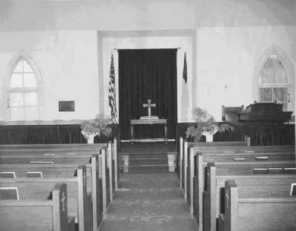 Sanctuary, Olde Church c. 1950s