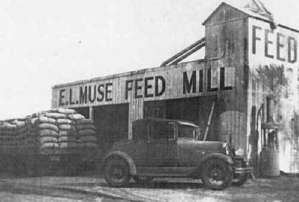 Muse Feed Mill 1920s