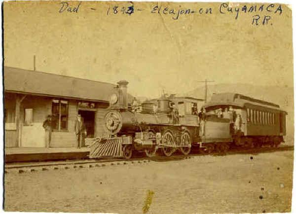 El Cajon Station c.1893