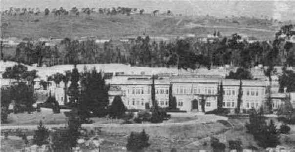 Grossmont High School, built in 1922