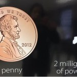 2 milligrams of powder compared with a penny