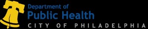 The logo of the Department of Public Health City of Philadelphia