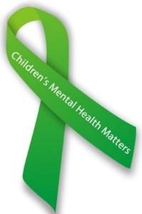Children's Mental Health Matters ribbon