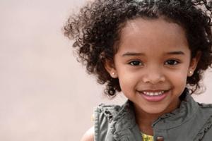 child smiling