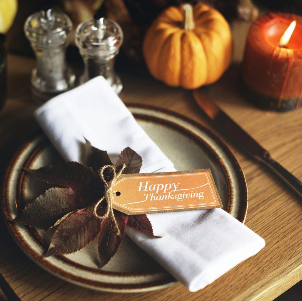 Happy Thanksgiving day celebration