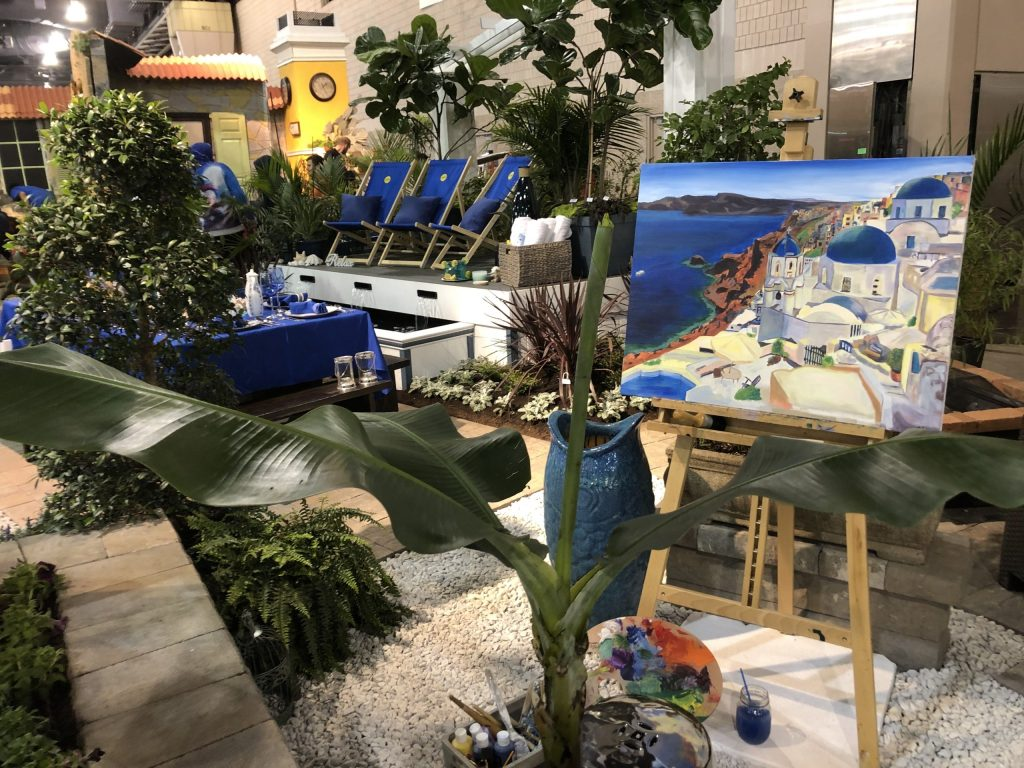 Lakeside exhibit at Philly Flower Show.