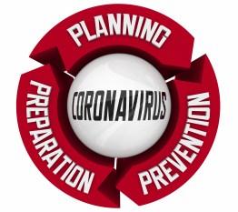 Coronavirus Planning Preparation Prevention COVID-19 Outbreak Pandemic 3d Illustration