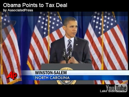 Obama Points to Tax Deal