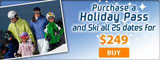 Purchase a Holiday Pass at Diamond Peak for $249!