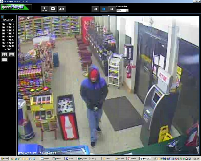 Sheriff's Office requests public's assistance in identifying armed robbery suspect