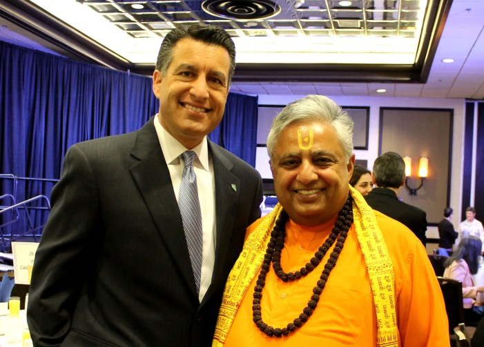 "Governor Sandoval congratulates Rajan Zed on his ""remarkable achievements"""