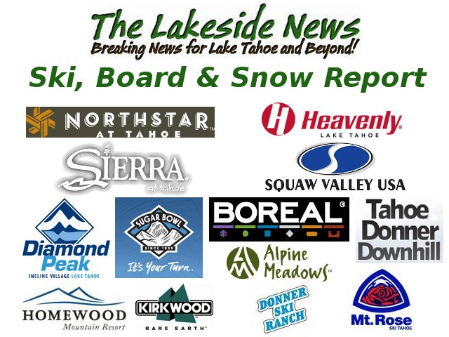 Tahoe Snow Report For January 6th…Resorts Get a Fresh Foot or So & More on the Way!