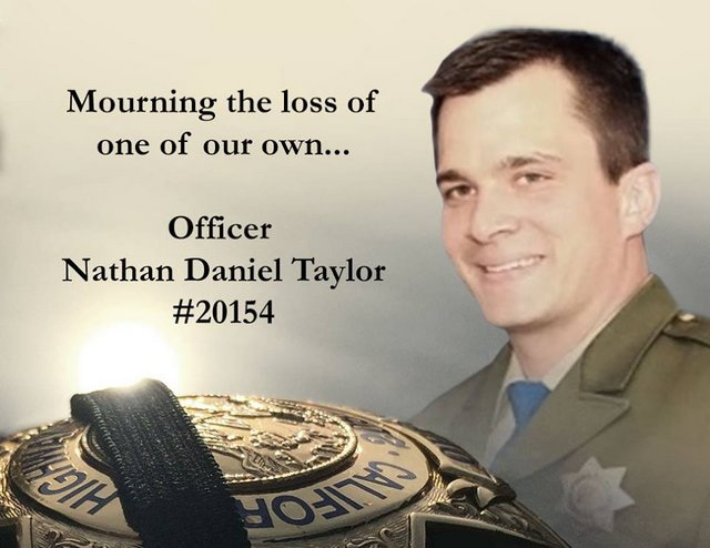 CHP Gold Run Mourns The Loss Of Officer Nathan Daniel Taylor