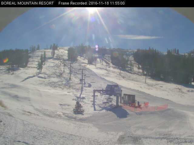 Boreal Resort Opens For The 2016 – 2017 Season At Noon Today