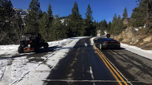 Movie Production Causing Delays On Donner Pass Road