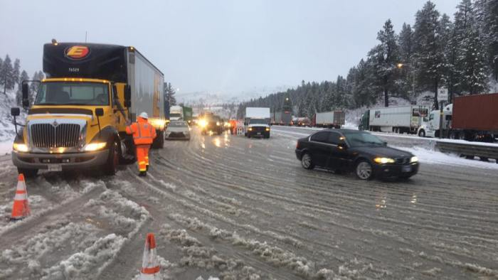 I-80 Closed In Both Directions Due To Visibility Issues