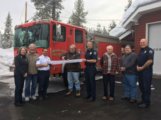 Meeks Bay Fire Protection District Now Designated As Advanced Life Support Capable