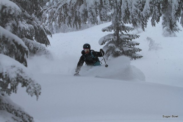 Tahoe Receives Up To A Foot Of New Snow With More On The Way