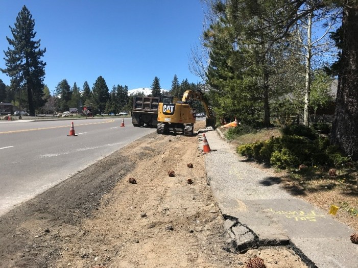Traffic Restrictions Changing for Caltrans' Lake Tahoe Projects Water Quality Improvements in South Lake Tahoe and West Shore
