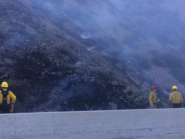 Traffic Update…I-80 Reopens After Brush Fire
