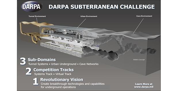 DARPA Subterranean Challenge Aims to Revolutionize Underground Capabilities