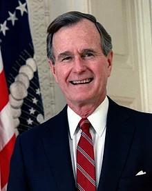 President George H. W. Bush  1924 – 2018