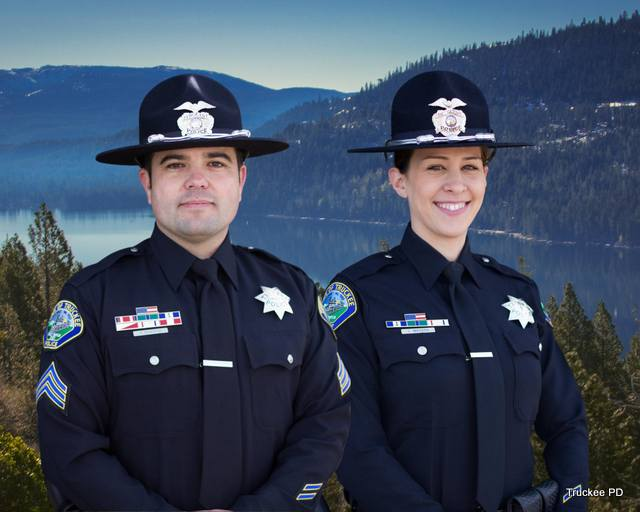 Truckee Police Congratulate Two New Lieutenants