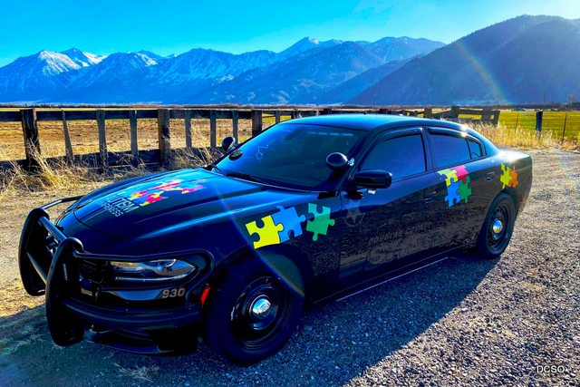 Douglas County Sheriff's Office Transforms Patrol Car to Promote the Autism Recognition Alert Program