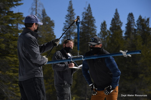 Statewide Snowpack Well Below Normal as Wet Season Winds Down