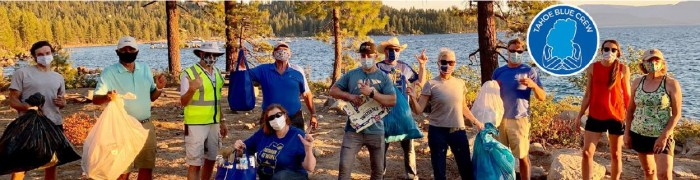 Tahoe Blue Crew Incline Village & Crystal Bay Cleanup Events