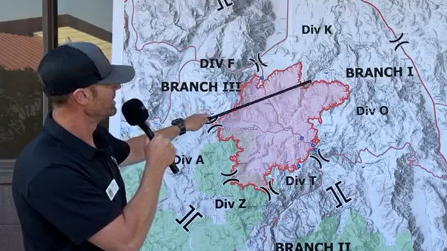 Tamarack Fire Morning Operations Update, 39,045 Acres, O% Containment, 1,219 Souls Working Fire!