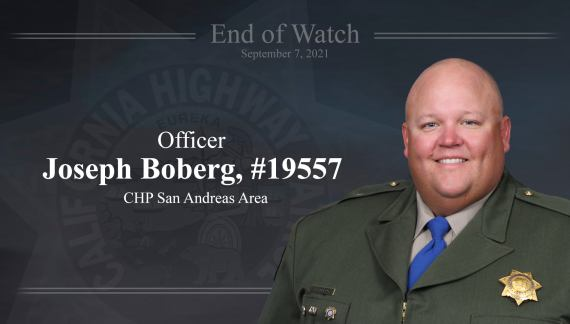 Governor Newsom Statement on Death of California Highway Patrol Officer Joseph Boberg