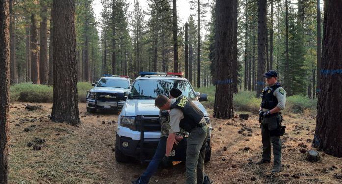 Eldorado Sherriff's Office Make Arrest in Caldor Fire Related Crime Spree.