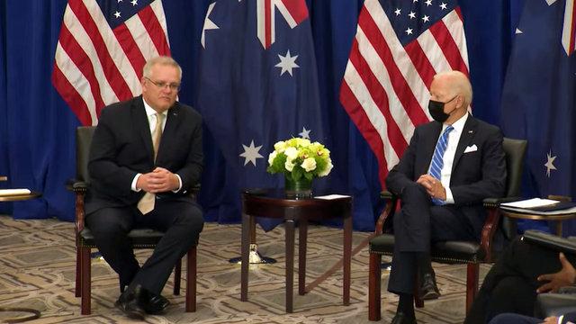 President Joseph R. Biden Jr.'s Meeting with Prime Minister Scott Morrison of Australia